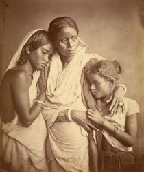 Unidentified female group, Eastern Bengal. 35